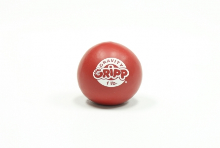 1lb GRAVITY GRIPP - Sport Hand Trainer: Red