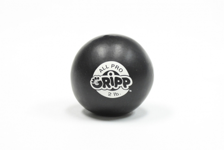 2lb All Pro Gripp Ball - Sport Hand Trainer: Black