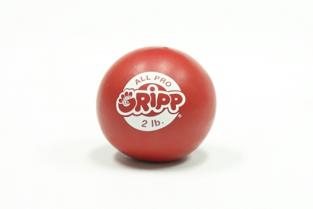 2lb All Pro Gripp Ball - Sport Hand Trainer: Red