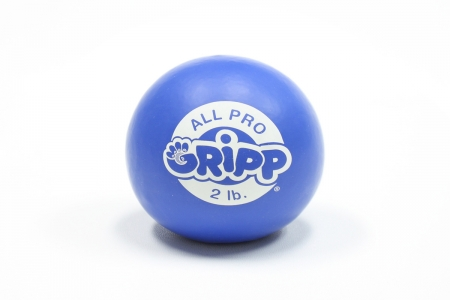 2lb All Pro Gripp Ball - Sport Hand Trainer: Royal