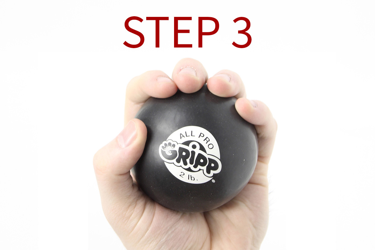 2lb All Pro Gripp Ball - Sport Hand Trainer
