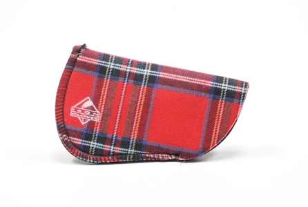 Blank Glove: Red Plaid