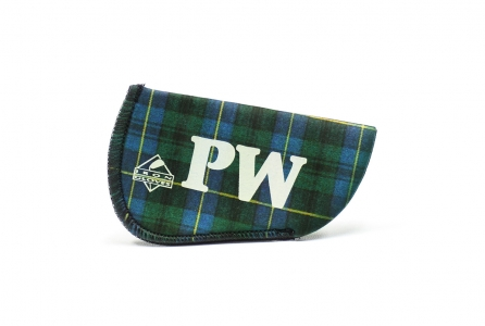 Pitching Wedge Glove: Green Plaid