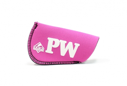 Pitching Wedge Glove: Pink