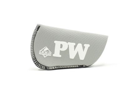 Pitching Wedge Glove: Silver