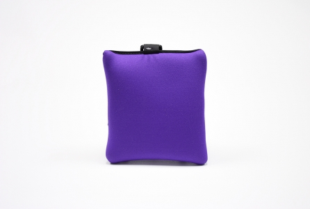 Double Zipper Tag-A-Long: Purple