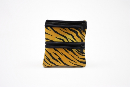Double Zipper Tag-A-Long: Tiger