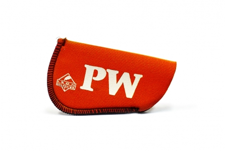 Pitching Wedge Glove: Orange