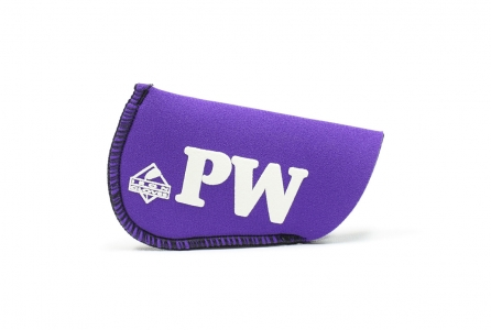 Pitching Wedge Glove: Purple
